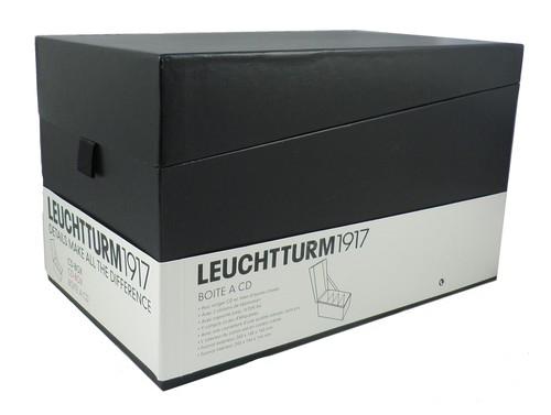 Pudełko na płyty CD Leuchtturm1917 czarne