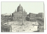 Karnet z kopertą ITW 004 Basilica di San Pietro