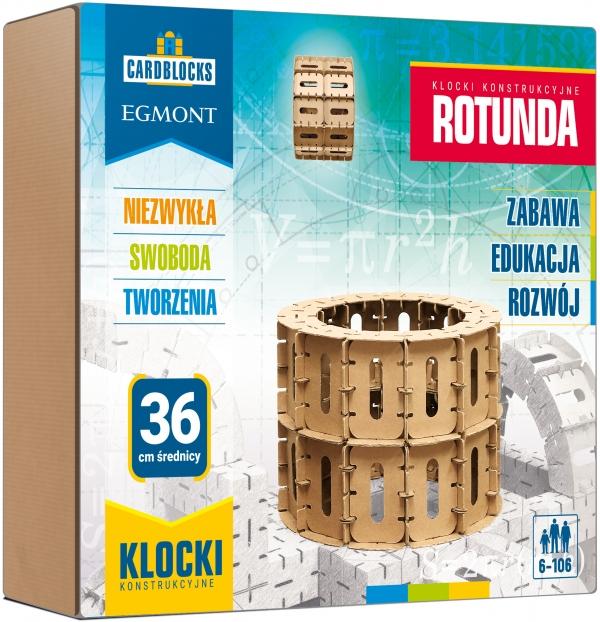 Cardblocks: Klocki konstrukcyjne - Rotunda