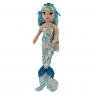 Ty Mermaids: Indigo - cekinowa niebieska syrenka, 27cm (02102)