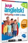 Język angielski. Karty pracy w szkole i w domu - klasa 1