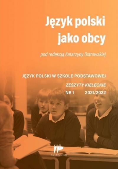 Jezyk polski jako obcy JPSP 1 2021/2022 red. Katarzyna Ostrowska