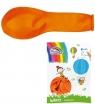 Balony Metal 12 pomarańczowy (100szt) FIORELLO