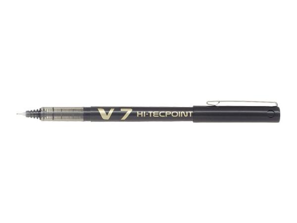 Cienkopis kulkowy Pilot Hi-Tecpoint V7 czarny (BX-V7-B)