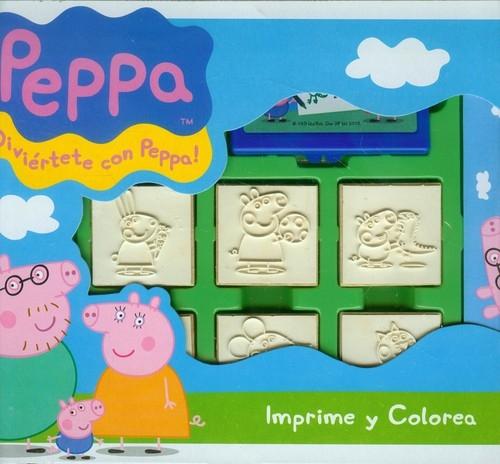 Pieczątki w walizce Świnka Peppa (043-7875) (Uszkodzone opakowanie)