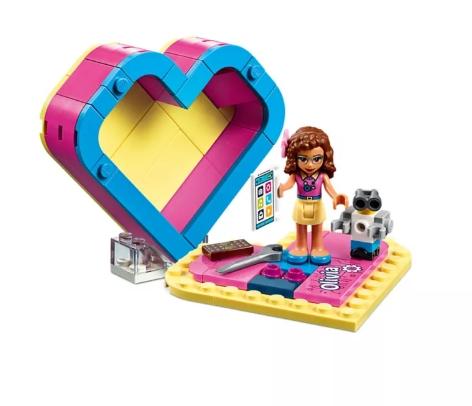 LEGO Friends: Pudełko w kształcie serca Olivii (41357)