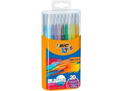 Flamastry Kids Kid Couleur 20 kolorów BIC