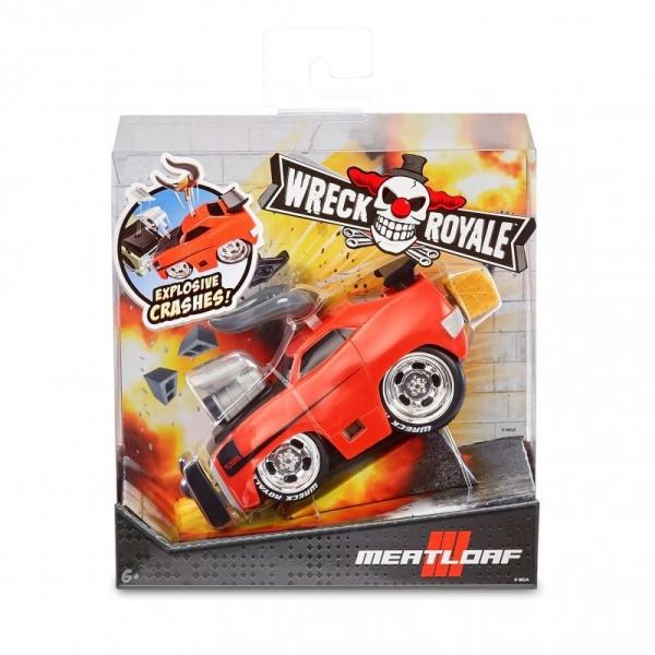 Pojazd Eksplodujące autko, Meat Loaf Wreck Royale (562856E7C/566052). Wiek: 6+