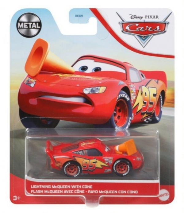 Pojazd Auta Zygzak McQueen (DXV29/GRR57)