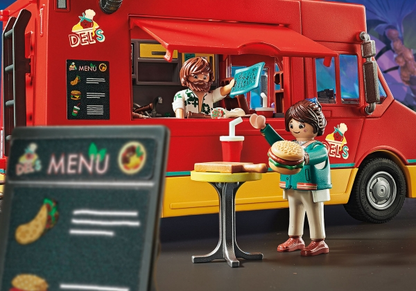Playmobil: The Movie - Food Truck Del'a (70075)