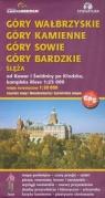 Góry Wałbrzyskie Kamienne Sowie Bardzkie Ślęża Mapa turystyczna 1: 50 000