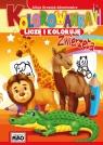 Kolorowanka Liczę i koloruję Zwierzęta