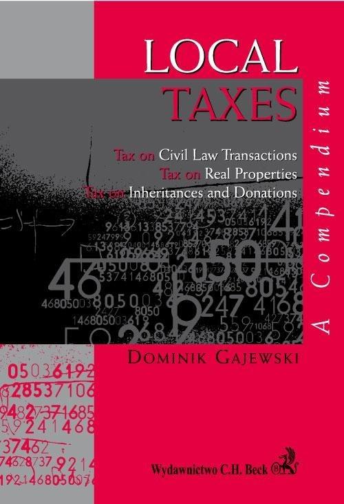Local Taxes A compendium Gajewski Dominik