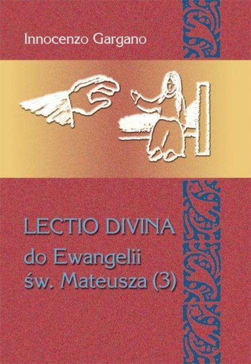 Lectio Divina Do Ewangelii Św Mateusza 3 Gargano Innocenzo