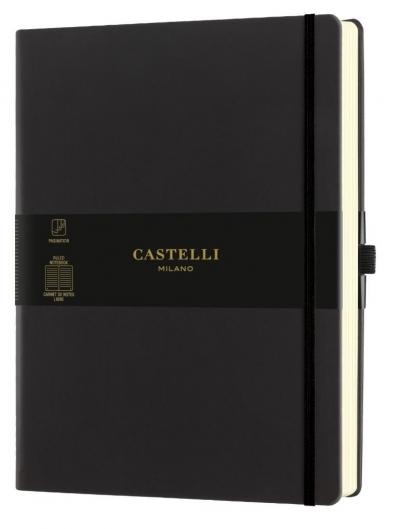 Notatnik 19x25cm linia Castelli Aquarela Sepia