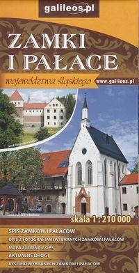 Zamki i pałace województwa śląskiego 1:210 000
