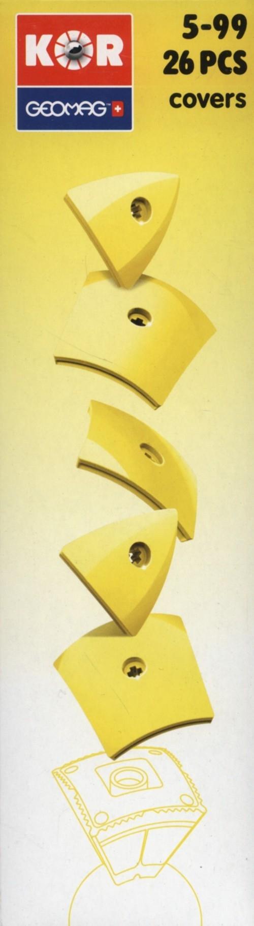 Geomag Kor Cover 26 elementów żółty