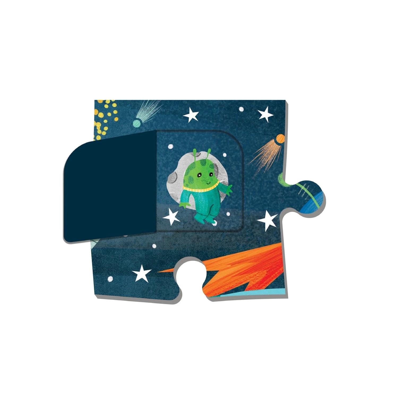Mudpuppy, Puzzle z okienkami 12: Kosmos (MP65759)