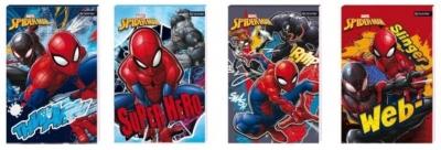 Notes A6/30K z poddrukiem Spider Man (12szt)