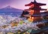 Puzzle Widok na Fudżi, Japonia 2000  (16775)