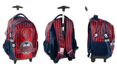 Plecak na kółkach Football PP21FO-997 PASO