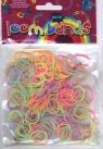 Gumki Loom Bands 200 szt kolory pastelowe