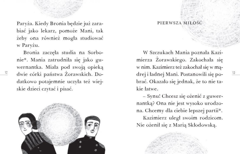 Czytam sobie. Droga do Nobla. O Marii Skłodowskiej-Curie. Poziom 3 Ewa Nowak, Nika Jaworowska-Duchlińska