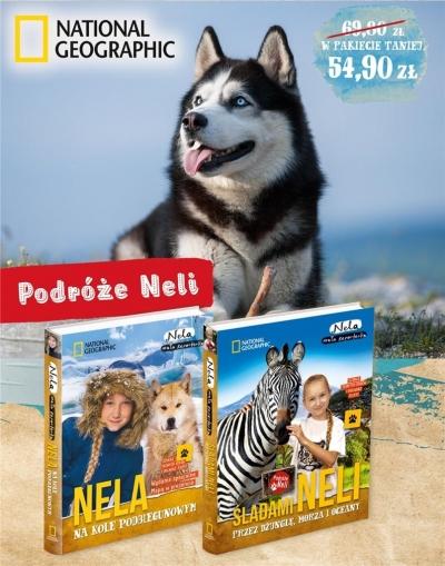 Pakiet 2: Nela na kole podbieg./Śladami Neli przez dżunglę, morza i oceany Nela Mała Reporterka