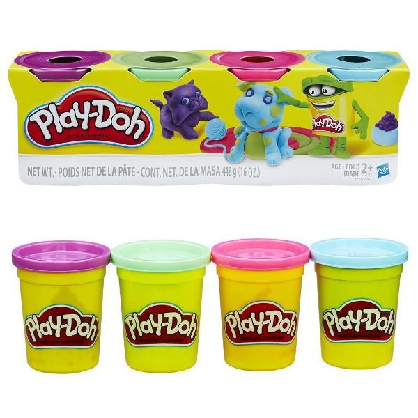 HASBRO PlayDoh 4pak Bright Color (B5517/B6510)