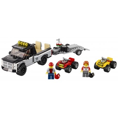 Lego City: Wyścigowy zespół quadowy (60148)