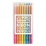 Grube Neonowe kredki ołówkowe Jumbo Brights 8 sztuk