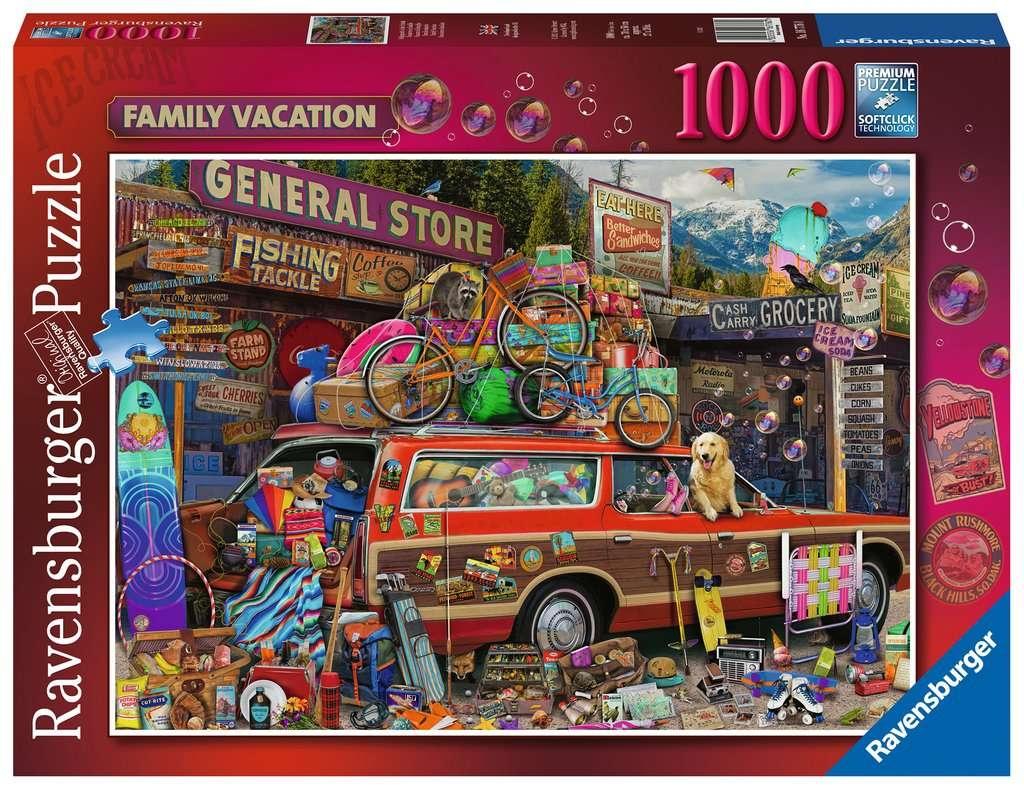 Puzzle 1000: Rodzinne wakacje (16776)