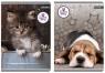 Zeszyt A5 w kratkę 60 kartek The Sweet Pets