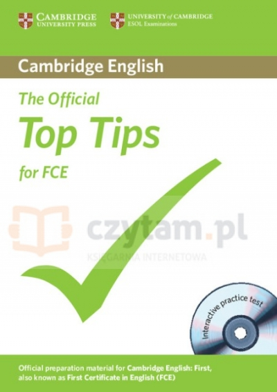 Official Top Tips for FCE +CD-ROM Corporate Author Cambridge ESOL