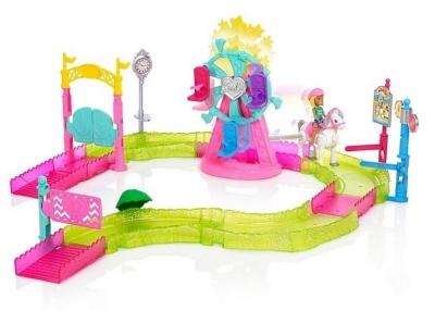 Barbie Wesołe miasteczko zestaw + Lalka (FHV70)