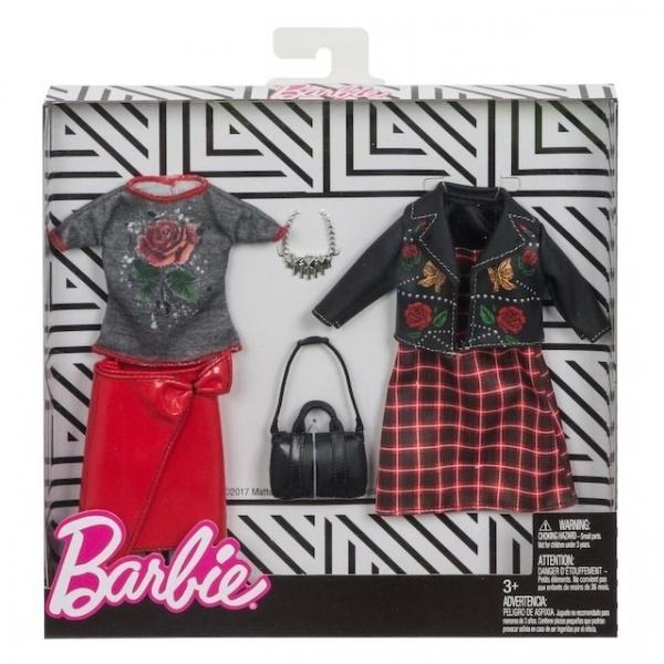 Barbie - Ubranka i akcesoria 2-pak FKT28 (FKT27/FKT28)