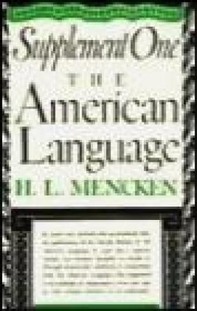 Supplement One American Language