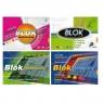 Blok techniczny Kreska A4/10k - kolorowy