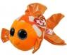 Maskotka Beanie Boos Sami - Pomarańczowa Rybka 15 cm (TY 37176)