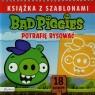 Bad Piggies Książka z szablonami Potrafię rysować