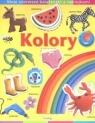 Moje pierwsze książeczki z naklejkami Kolory
