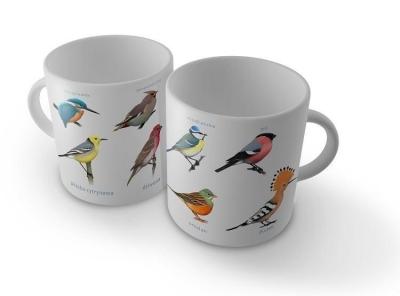 Kubek - Kolorowe ptaki SOLITON