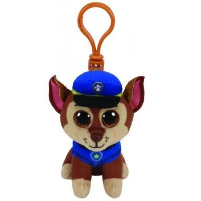 Maskotka-brelok Beanie Babies: Psi Patrol - Chase 8,5 cm (41276)
