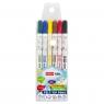Pisaki EASY Kids spieralne zapachowe dwustronne, 6 kolorów