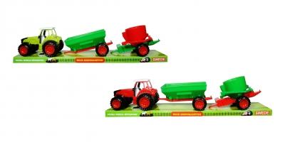Traktor dwie przyczepy polski moduł