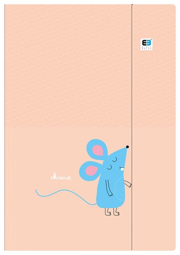 Teczka z gumką A4 B&B Kids pastel (380235)