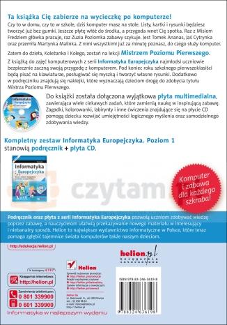 Informatyka Europejczyka poziom 1 z płytą CD Kiałka Danuta, Kiałka Katarzyna