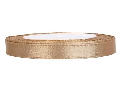 Tasiemka staynowa jasno-złota ATS6-019J 0,6cm x 25m1 .