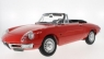 Alfa Romeo 1600 Duetto Spider 1966 (red) (52 cm long x 25 cm breit, without