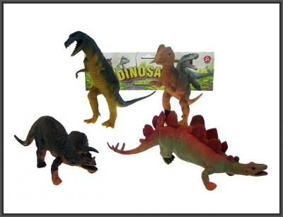 Figurka Hipo 24 cm Dinozaury 4 sztuki (HHB01)